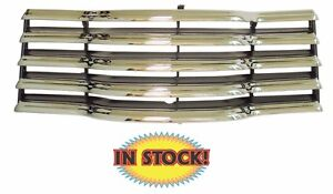 New Chrome Grill 1947 48 49 50 51 52 53 Chevy Pickup Truck With Black 47 8200 c