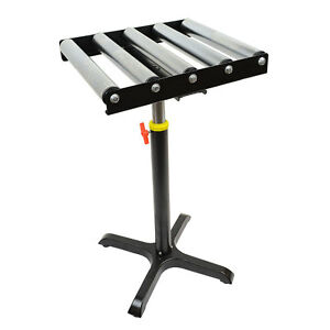 Adjustable Conveyor Roller Table 150 Lbs Capacity T2235