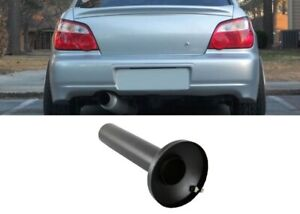 Black Universal Quiet Stainless Steel Silencer Inner For 4 Outlet Muffler Tip