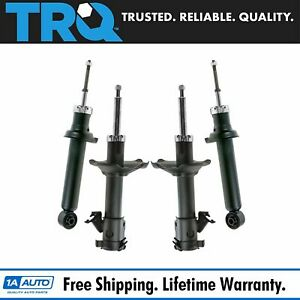Rear Shock Front Strut Assembly Set Of 4 Kit For Nissan Maxima Infiniti I30