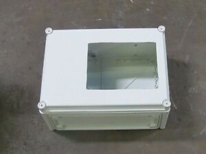 Fibox 1 3 3s 4 4x 6 6p Or 12 15 x11 x7 Non Metallic Electrical Enclosure