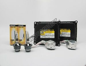 Denso Koito Hid Ballast Philips Oem D4r Hid Bulbs Combo Pack For Toyota Lexus