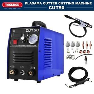 Plasma Cutter 50a 110v 220v With 12 Consumables Hf Start Cut50 14mm Pt31 Torch