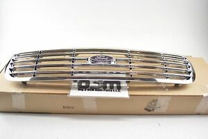 2001 2011 Ford Crown Victoria Front Hood Grille Chrome New Oem 6w7z 8200 ba