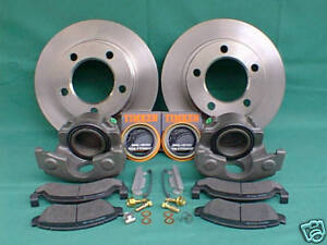 1976 1977 1978 1979 Ford Bronco f100 f150 Front Disc Brake Re new Set Dana 44