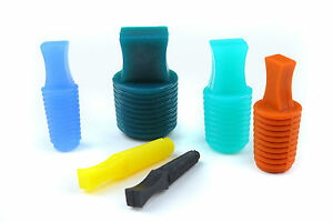 Powder Coating High Temperature Flangeless Silicone Plugs Inserts Kit 191 Pcs
