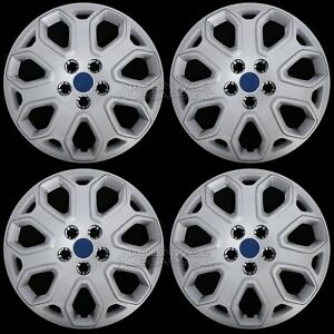 4 New 2012 2013 2014 Ford Focus 16 Wheel Covers Full Rim Hub Caps R16 Tire Size