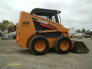 2010 Case 430 Skid Steer Loader Skid Steer Case Skid Steer
