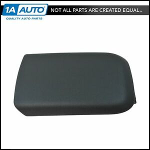 Oem Center Console Arm Rest Lid Top Pad Cover Compartment Door For Ford Mustang
