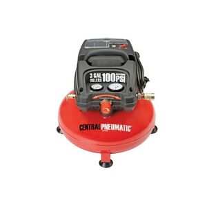 1 3 Horsepower 3 Gallon 100 Psi Oilless Portable Pancake Air Compressor Fedex