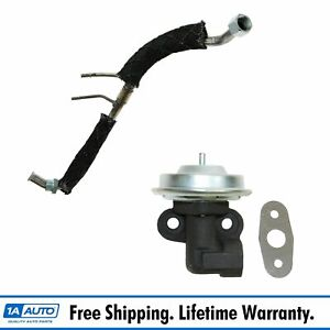 Emissions Egr Tube And Valve For 97 00 Ford Truck Expedition V8 4 6l F150 F250