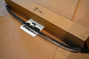 2011 2014 Chevrolet Silverado 2500 3500 Hood Front Moulding Trim Chrome New Oem