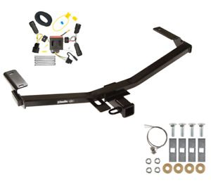 Trailer Tow Hitch For 11 14 Ford Edge Sport W Wiring Harness Kit Plug Play