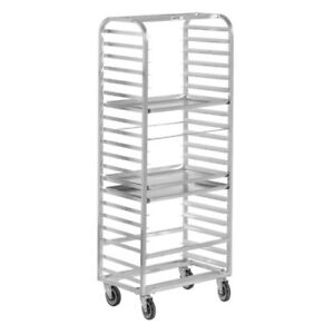Channel Bun Pan Rack Aluminum Side Loading 70 1 4 High For 20 Pans