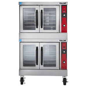 Vulcan Vc44gd Double Deck Nat Gas Convection Oven Solid State Controls