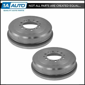 Rear Brake Drum Pair Set For Toyota 4runner T100 Tacoma Tundra Pickup New