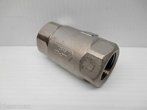 Apollo 62 105 01 Stainless Steel Ball cone In line 1 Check Valve