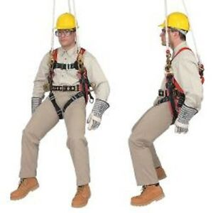 Klein 87893 Fall arrest positioning suspension Harness For Tree Trimming Work