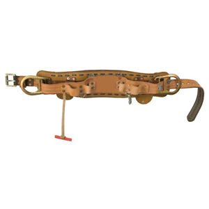Klein Tools 5278n 22d Deluxe Full floating Lineman s Body Belt