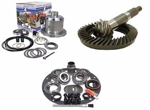 Ford Dana 44 5 13 Reverse Ring And Pinion Yukon Air Zip Locker Gear Pkg