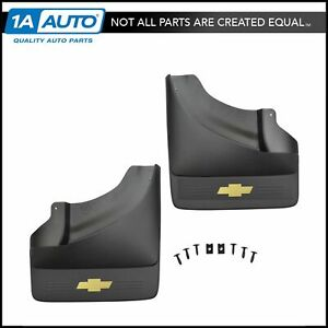 Oem Splash Guard Mud Flap Rear Pair Set Of 2 For Chevy Pickup Truck Drw Dually