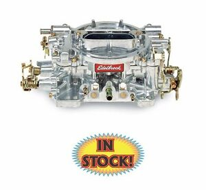 Edelbrock 1407 Performer 750 Cfm Carburetor With Manual Choke Natural