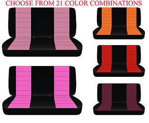 Cc Ford Chevrolet Dodge Cotton Truck Bench Seat Cover 22 Colors Option Headrest