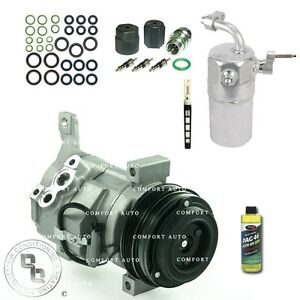 New Ac A c Compressor Kit Fits 2003 2005 Chevy Silverado 1500 4 8l 5 3l 6 0