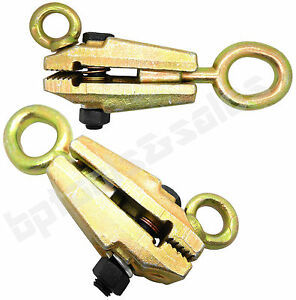 2pc 5 Ton 2 way Self tightenin g Frame Body Repair Small Mouth Pull Clamp