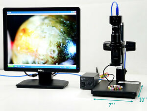 Microscope Digital Electric Inspection Zoom Video Amplify Usb Manual