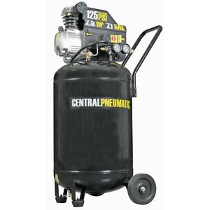 21 Gallon 125 Psi Cast Iron Vertical Air Compressor 2 5 Hp M Portable Free Fedex