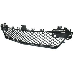 Bumper Grille For 2012 2015 Mercedes Benz C250 With Parktronic Holes Center