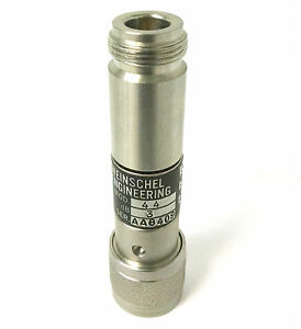 Weinschel Engineering Model 44 3 Fixed Coaxial Rf Attenuator 3db dc 18ghz 5w