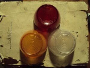 Maserati 3500 Gti Sebring One Amber Red Or Clear Altissimo Tail Light Lens