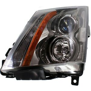 Headlight For 2008 2012 2013 2014 2015 Cadillac Cts Left With Bulb