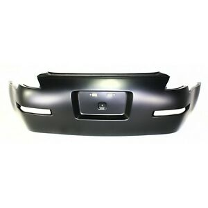 Bumper Cover For 2003 2009 Nissan 350z Rear Primed W Dual Exhaust Holes
