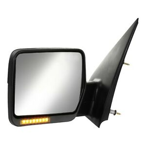 2004 2006 04 06 Ford F150 Power Heated View Mirror W Led Signal Left Driver Side
