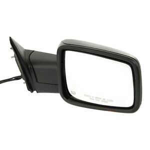 Kool Vue Mirror For 2013 18 Ram 1500 Power Folding Signal Light Textured Right