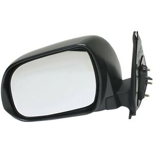 Manual Mirror For 2012 2015 Toyota Tacoma Driver Side Textured Black