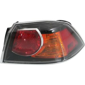 Tail Light For 2009 2015 Mitsubishi Lancer Rh Outer