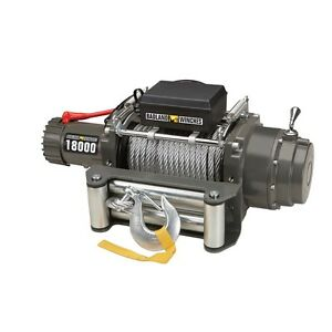 18000 Lb Industrial Tow Truck Electric Winch With Automatic Load holding Brake