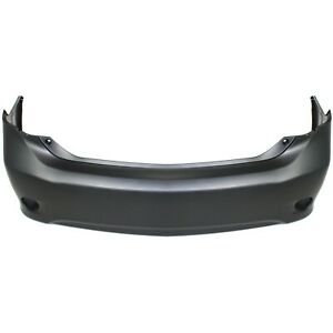 Bumper Cover For 2009 2010 Toyota Corolla Usa Built Primed Rear
