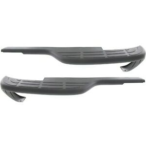 Bumper Step Pad Set For 1999 2005 Gmc Sierra 1500 Rear Left Right 2pc