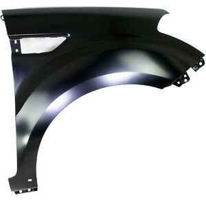 Fender For 2010 2012 Kia Soul Front Right Primed Steel With Molding Holes