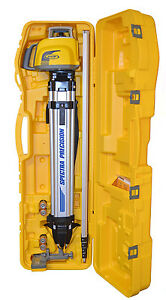 Spectra Precision Ll300n 2 Self Leveling Laser Level Kit With Inches Rod