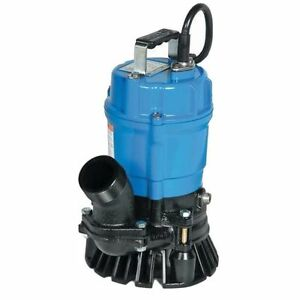 Tsurumi Submersible Trash Water Pump 3 inch Discharge 60 Gpm