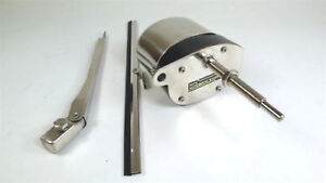 Windshield Wiper Motor Kit Hot Rod Street Rod Stainless 12v Universal Fit New