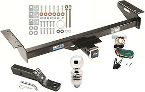 1997 2001 Jeep Cherokee Complete Trailer Hitch Package W Wiring Kit Class 3 New