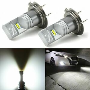 Jdm Astar 7000lm 8th Gen H7 6000k White Led Headlight Conversion Fog Lights Bulb