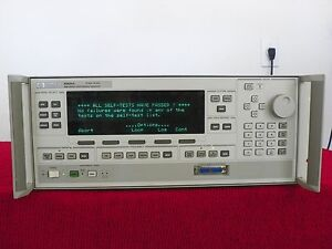 Agilent hp 83620a Synthesized Sweeper 10 Mhz 20 Ghz Opt 004 008